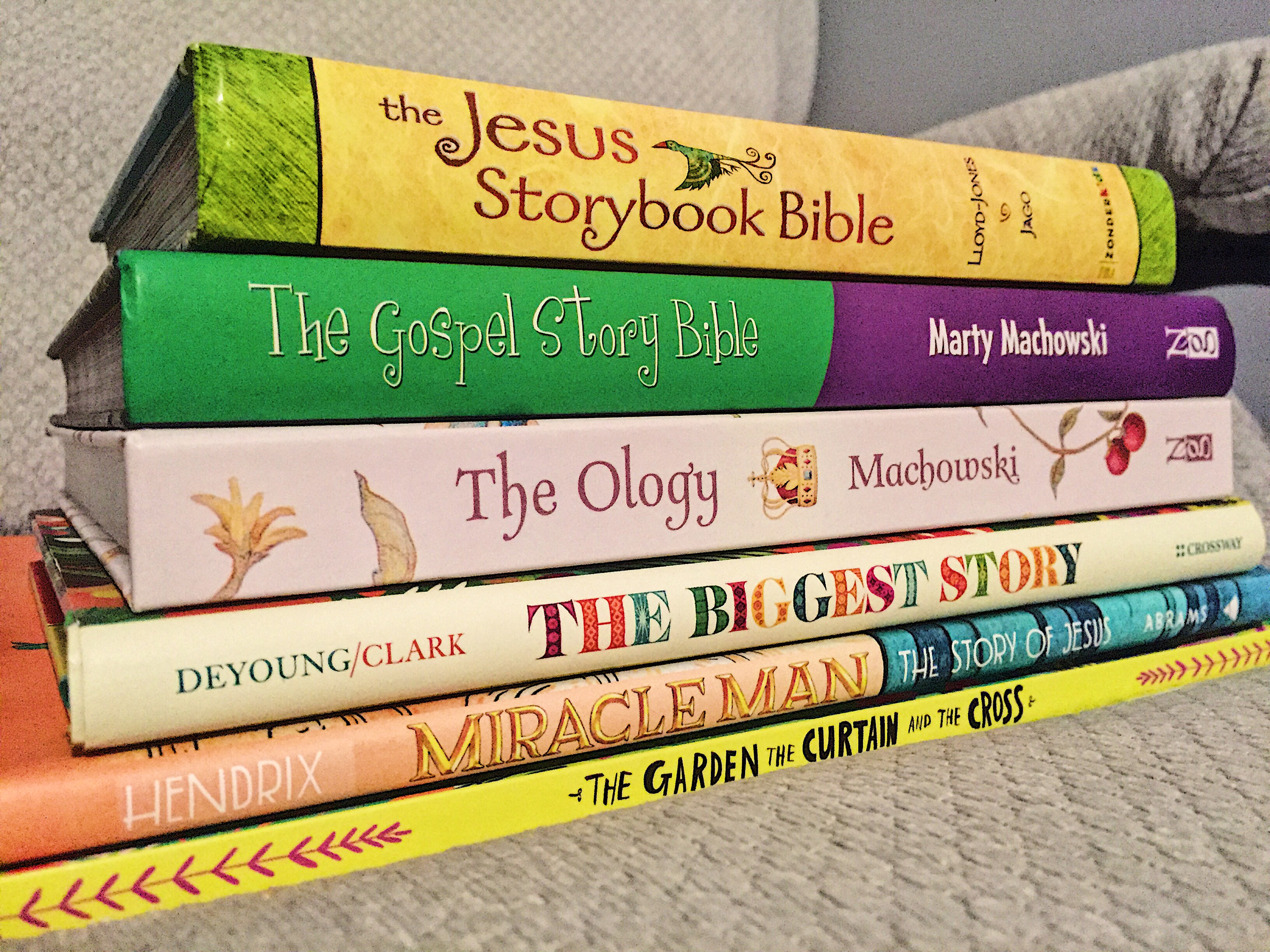 BUILDING A THEOLOGICAL LIBRARY FOR KIDS